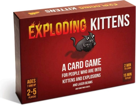 EXPLODING KITTENS CHILDREN