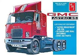 AMT #1140 1/25 GMC Astro 95 Semi Tractor