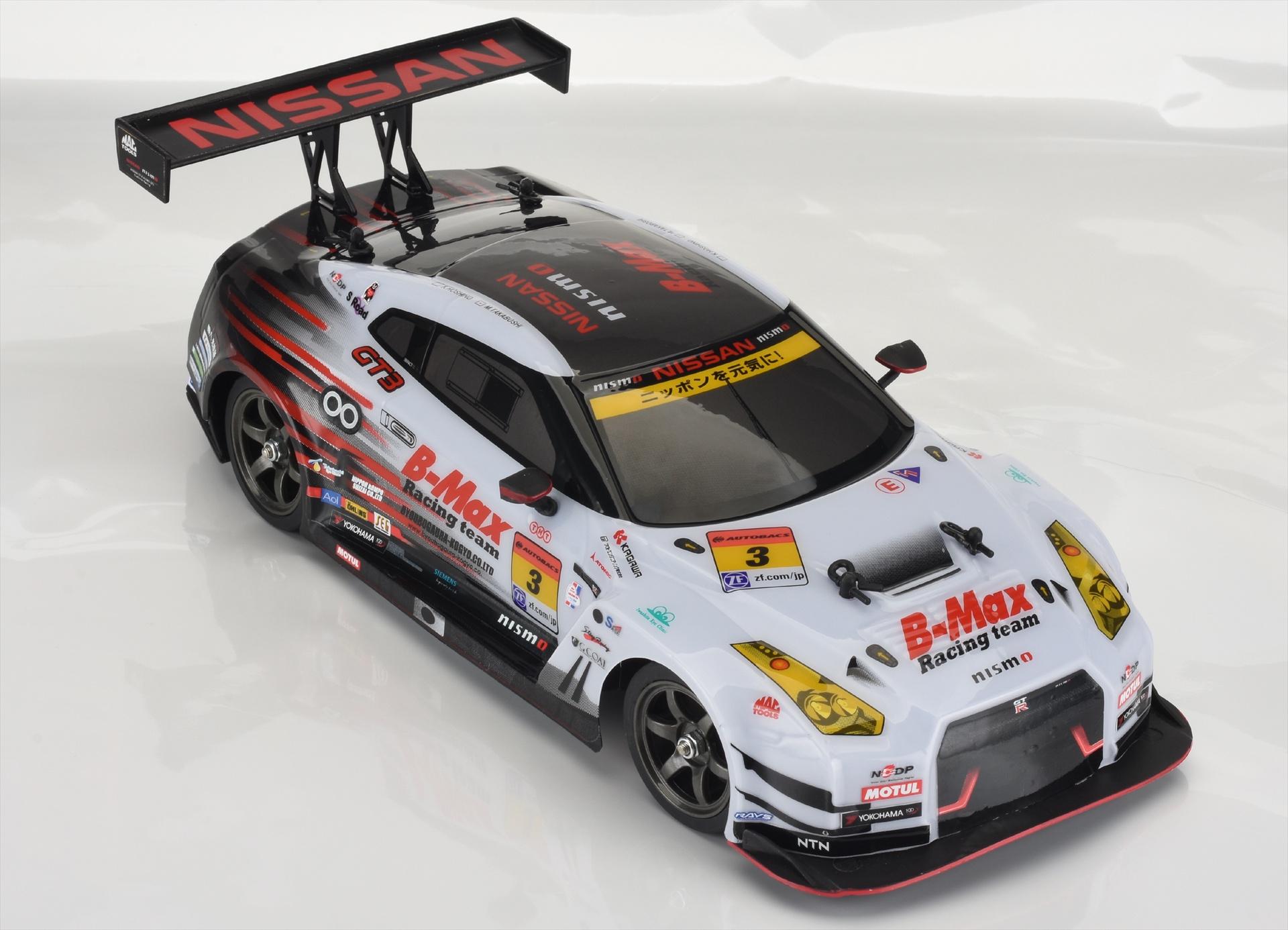 1:16 R/C NISSAN GT-R GT300(R35) R&D SPORT GRAY