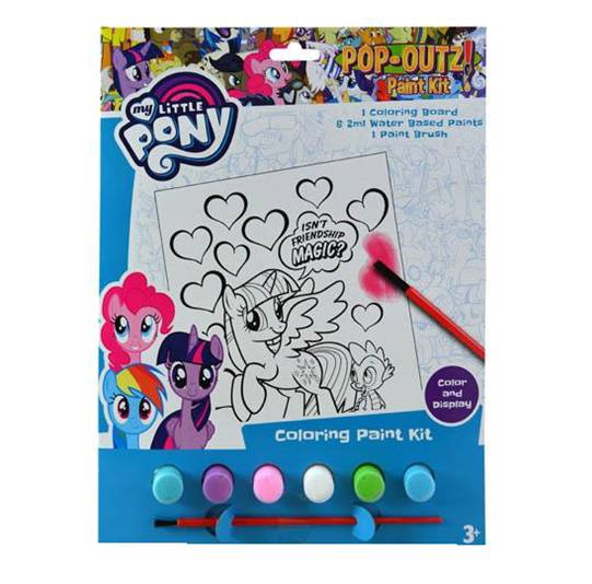 MY LITTLE PONY PAINT SET