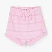 Hatley Pink Stripes Baby Terry Shorts