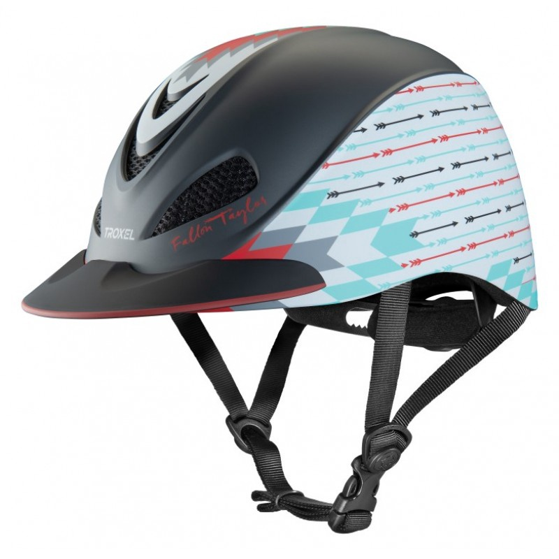 Troxel Fallon Taylor Western Performance Helmet Grey Firestorm