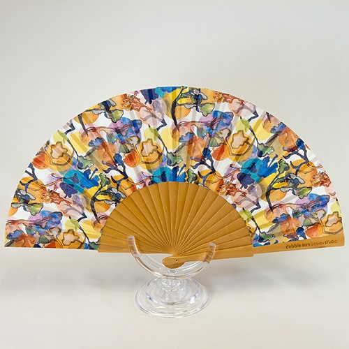 Hand Fan | Orange Blossom