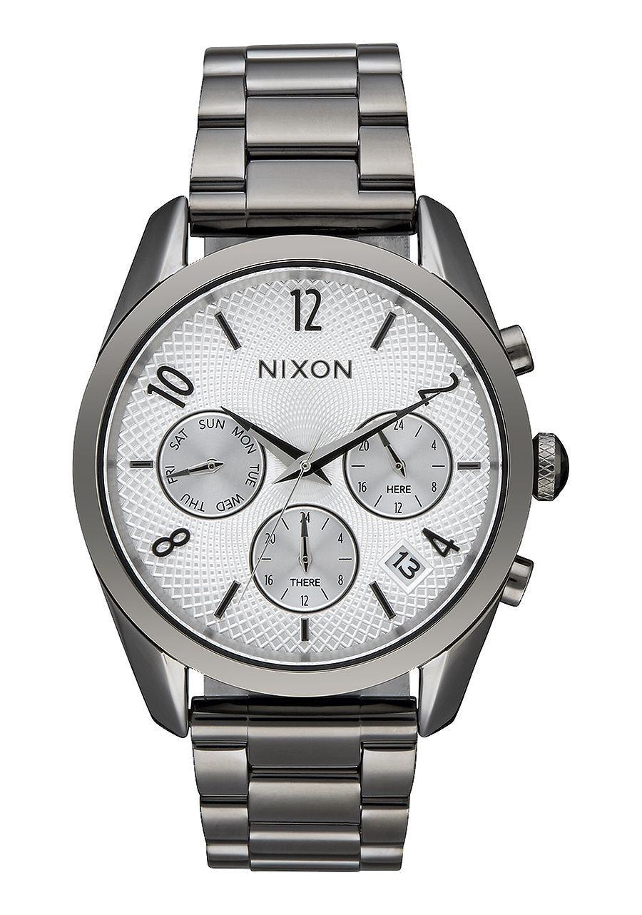 NIXON - BULLET CHRONO 36 GUNMETAL SILVER A949 2225-00
