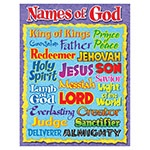 X DC T 38703 NAMES OF GOD CHART