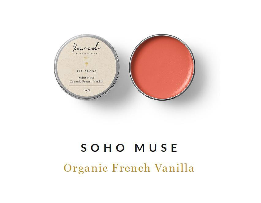 Organic French Vanilla Lip Bloss
