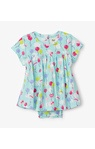 Party balloons baby one-piece dress