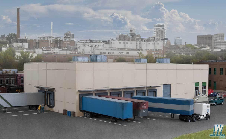 Cornerstone #933-3862 N Modern Concrete Warehouse Kitset