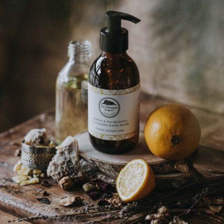 Dartmoor Uplifting Hand and Body Wash - Lemon & Palmarosa 250g