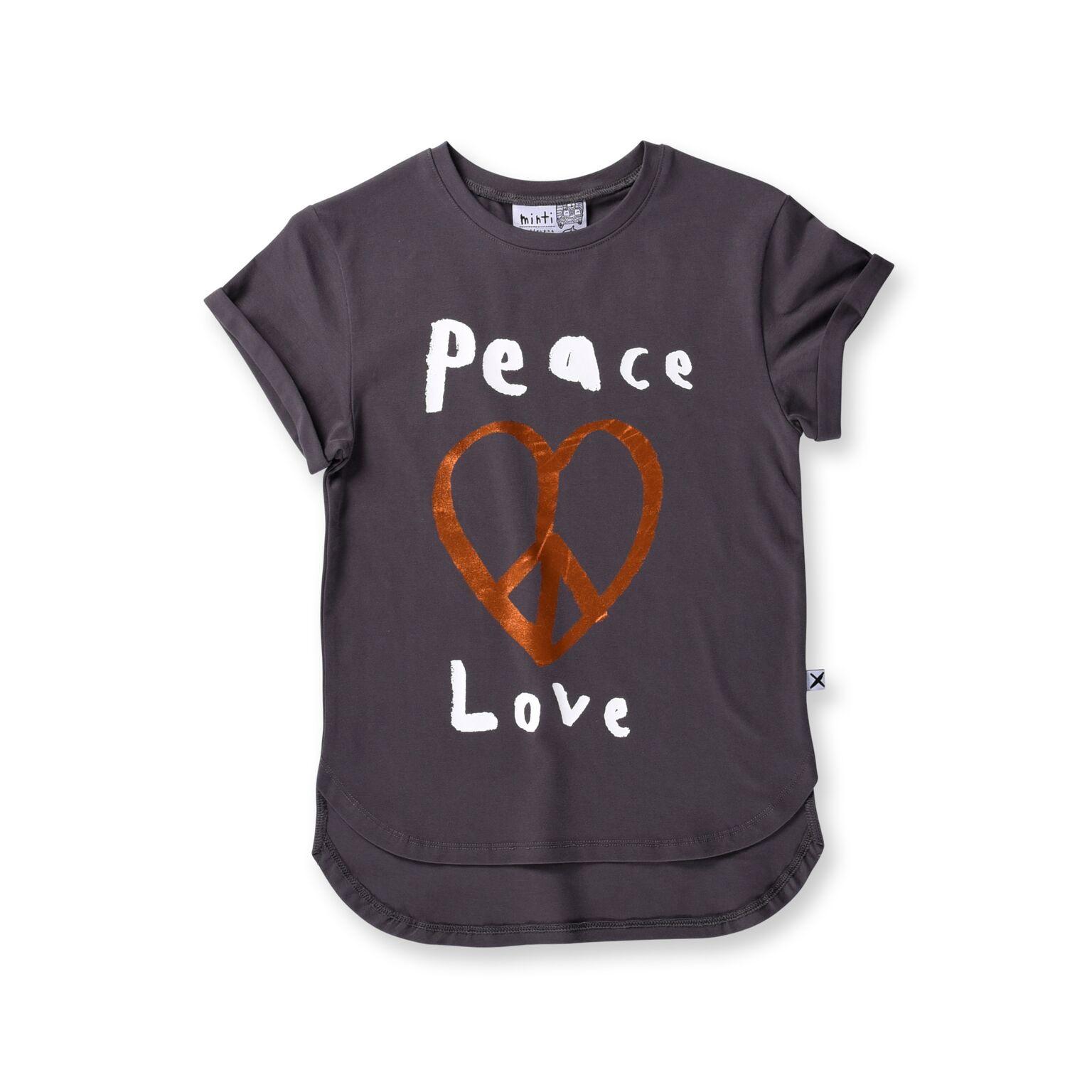 Minti Peace Love Drop Tee