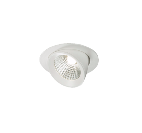 230V 15W Round LED Recessed Adjustable Downlight