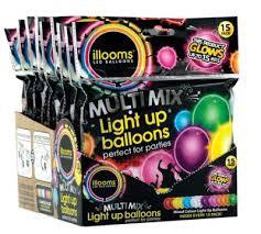 ILLOOMS ILLOOMICONS LIGHT UP BALLOONS