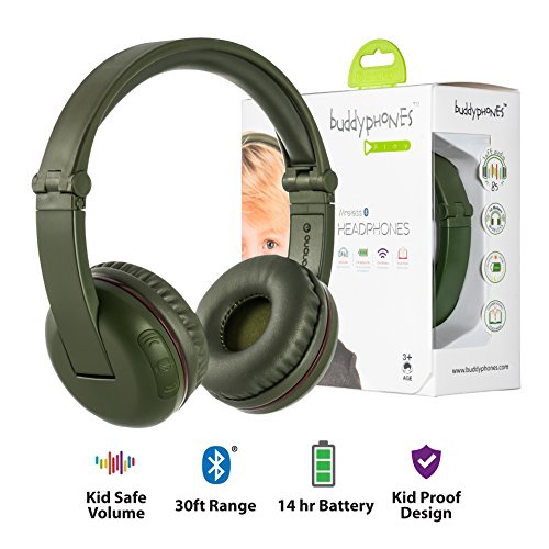 BUDDY PHONES PLAY- AMAZON GREEN