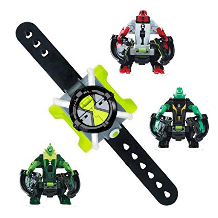 BEN 10 OMNI-LAUNCH BATTLE FIGURES OE CANNONBOLT