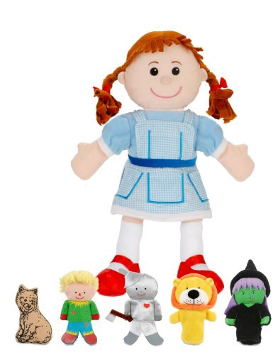 WIZARD OF OZ HAND/FINGER PUPPET SET