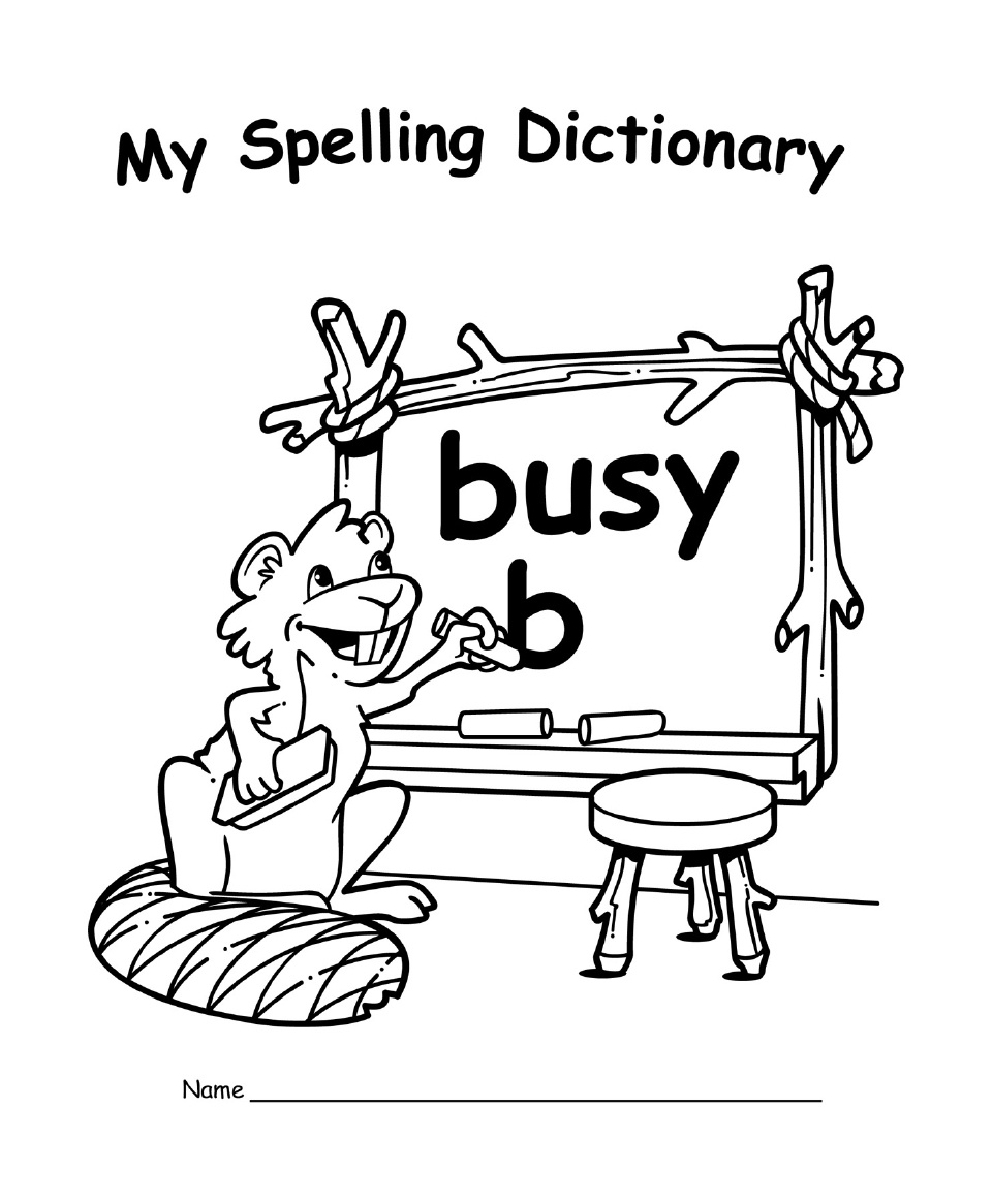 EP 60111 MY SPELLING DICTIONARY