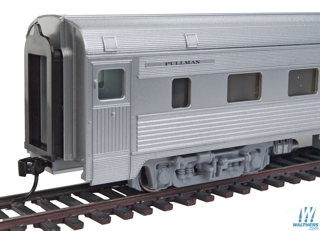 Walthers Mainline #910-30102 85' Budd 10-6 Sleeper Santa Fe