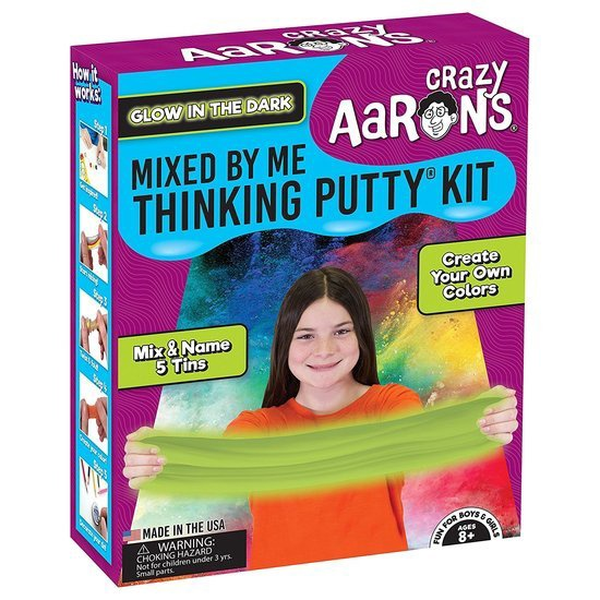 CRAZY AARON'S MIXED BY ME THINKING PUTTY KIT GLOW