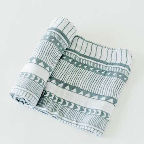 Cotton Muslin Swaddle | Santa Fe