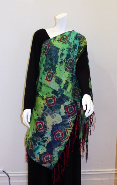 Multi Way Double Wrap/Top with Hand Made Tassels