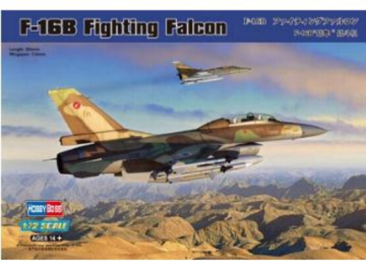 Hobby Boss #80273 1/72  F-16B Fighting Falcon