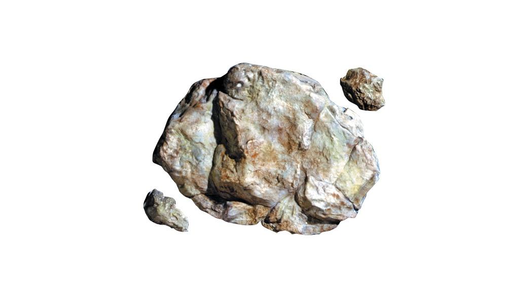 Woodland Scenics  #C1238 Rock Mold Weathered Rock