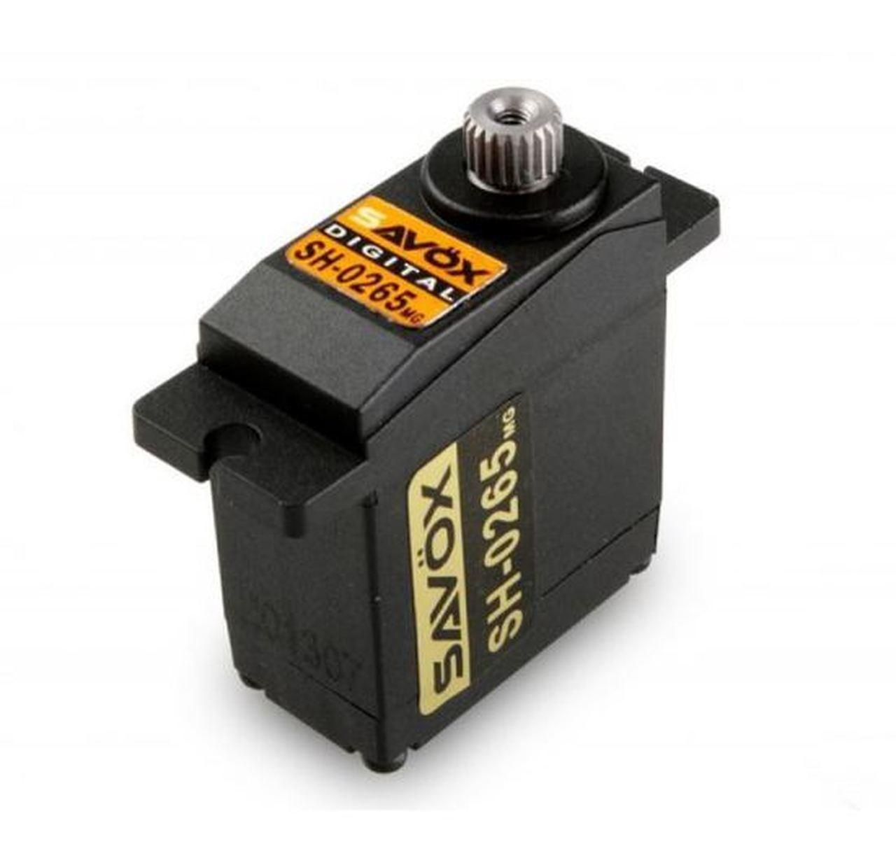 Savox # SH-0265MG Metal Gear Micro Digital Servo 2.4kg 0.075 Sec