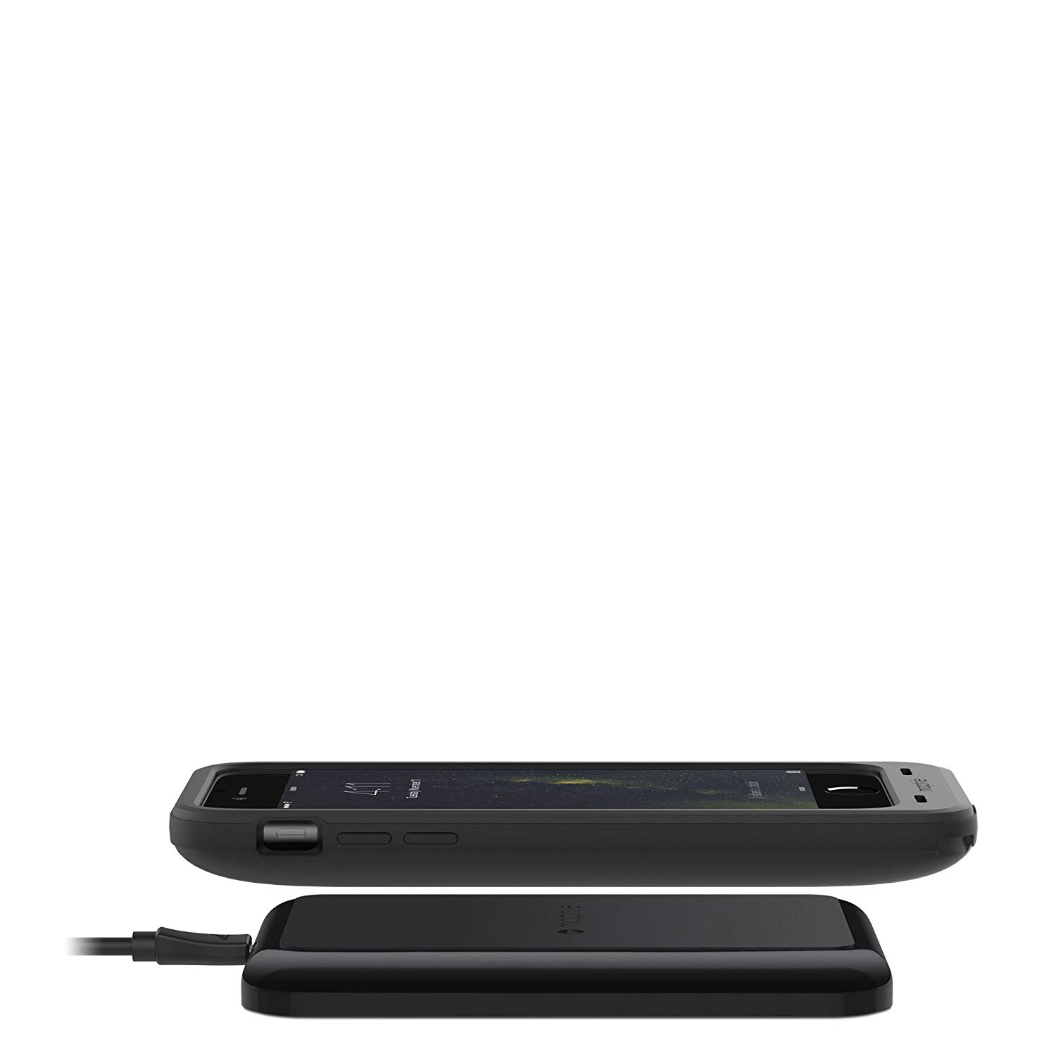 wholesale dealer b2c20 36cb3 mophie juice pack Wireless and Qi Charging Base for Apple iPhone 6 / iPhone  6s - Black