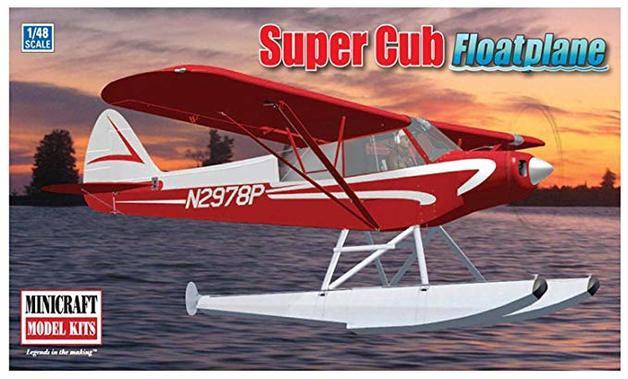 Minicraft #11663 1/48 Super Cub Floatplane