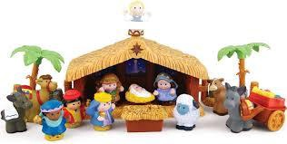 LITTLE PEOPLE DELUXE CHRISTMAS STORY