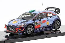 IXO #RAM691 1/43 2018 Hyundai i20 WRC 'Paddon/Marshall'