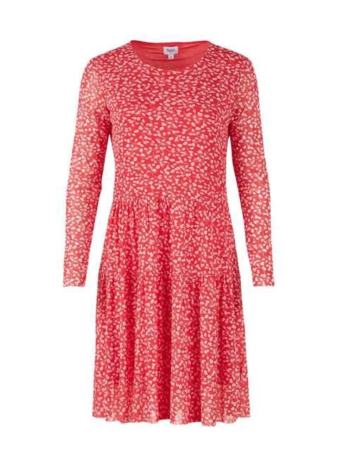 Leaf Print Woven Dress by Saint Tropez