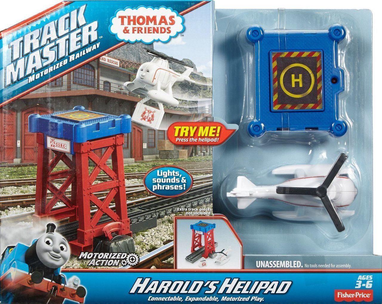TRACKMASTER HAROLD'S HELIPAD