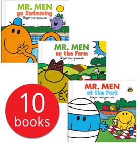 MR MEN EVERY DAY STORIES COLLECTION (10 BOOKS)