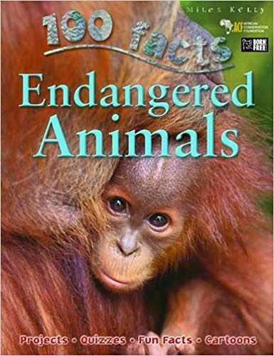 100 FACTS ENDANGERED ANIMALS (PB)