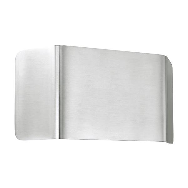Verona 1lt wall 9W warm white - polished aluminium