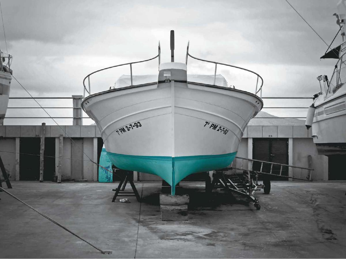 Green Mallorca Boat Renovation