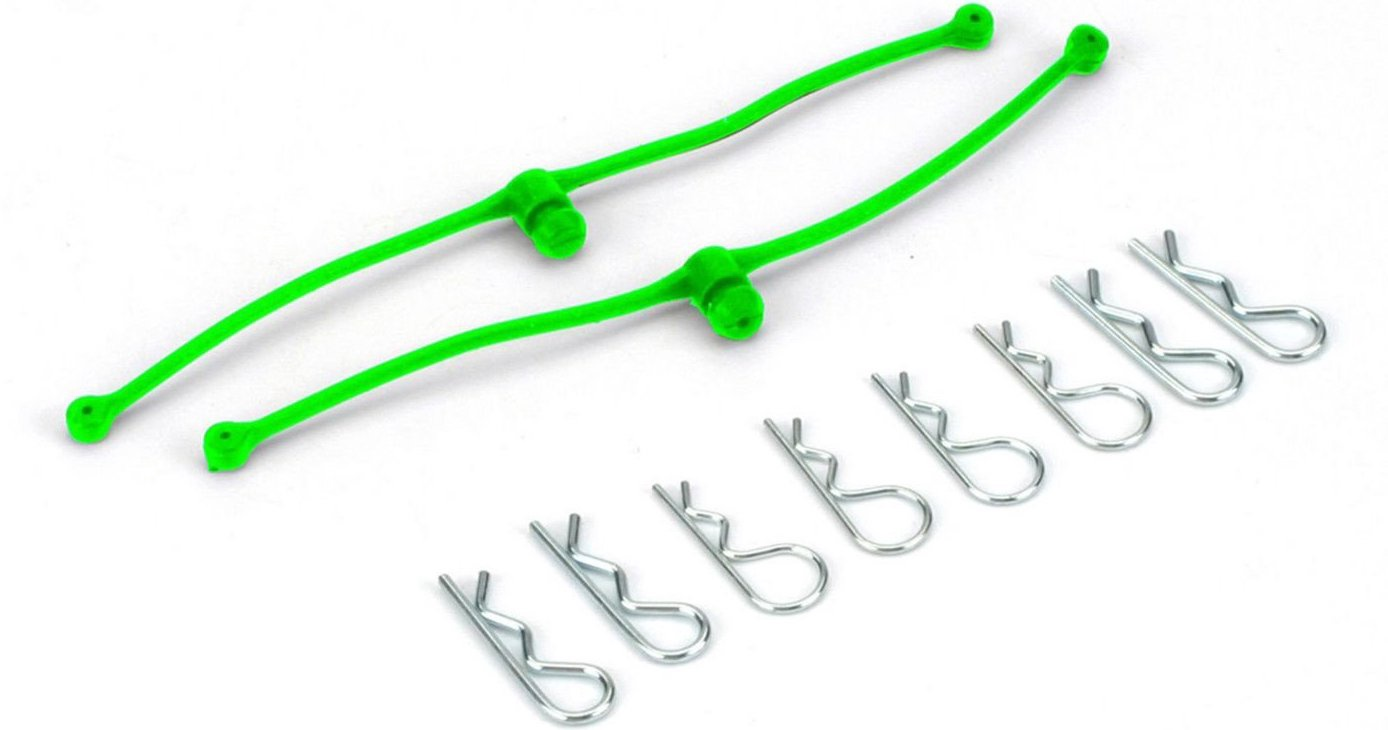 Du-Bro #2253 Body-Klip Retainer (Green)