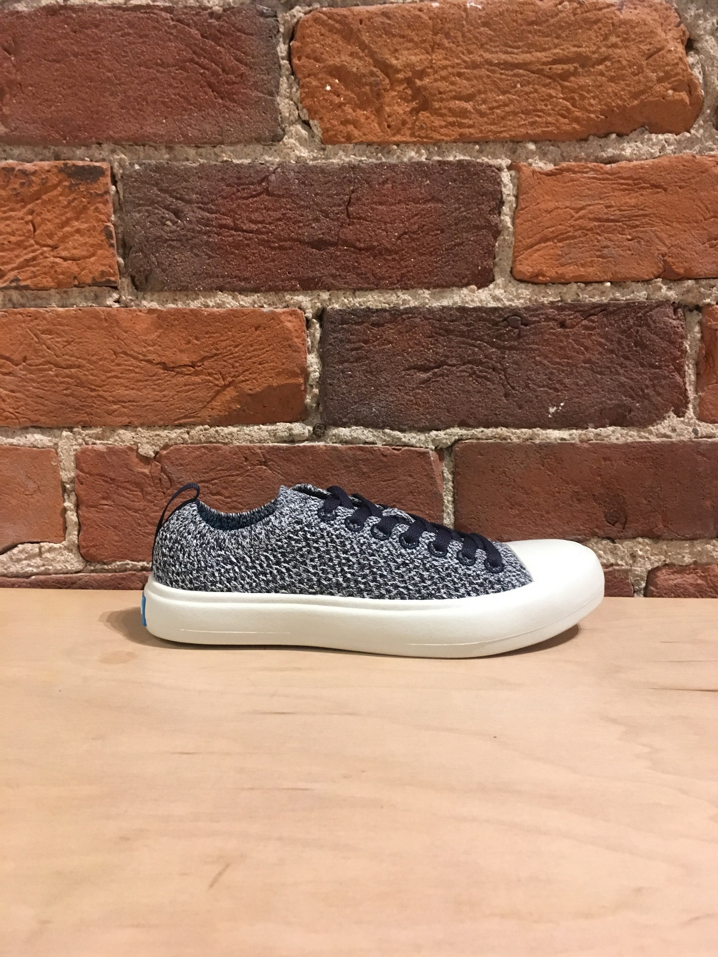 PEOPLE FOOTWEAR - THE PHILLIPS KNIT IN PADDINGTON BLUE/YETI WHITE