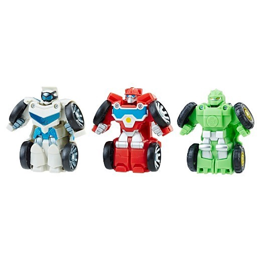 TRANSFORMERS RESCUE BOTS FLIP RACERS GRIFFIN ROCK STUNT TEAM MULTI PACK