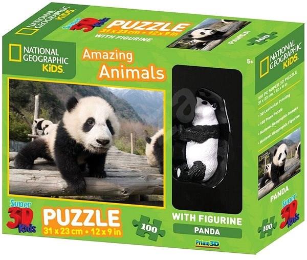 3D PUZZLE PANADA 100 PCS W/FIGURE