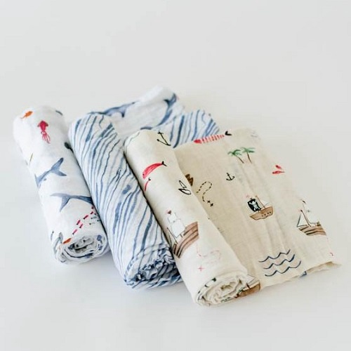 Swaddle Blanket | Shark Set