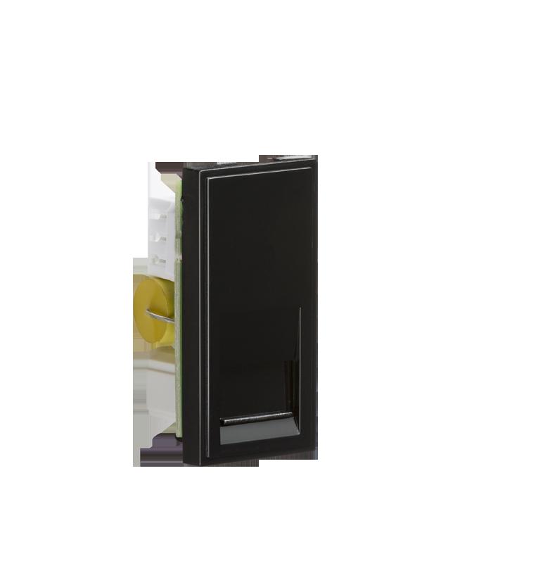 Black Modular Telephone Master Outlet IDC