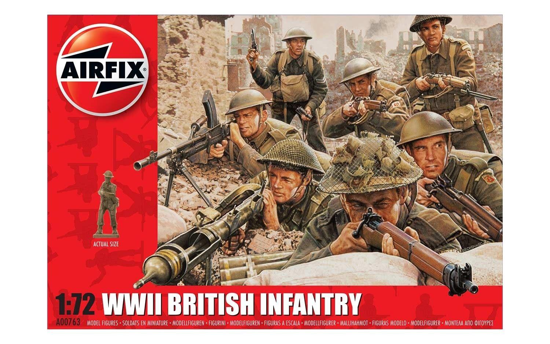 Airfix #A00763 WWII British Infantry