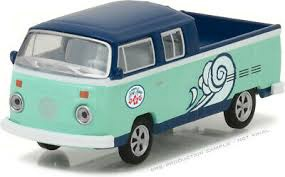 Greenlight #29894 1/64 1976 VW Type 2 Double Cab Pick-Up