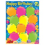 T 38354 BIRTHDAY SEA BUDDIES CHART