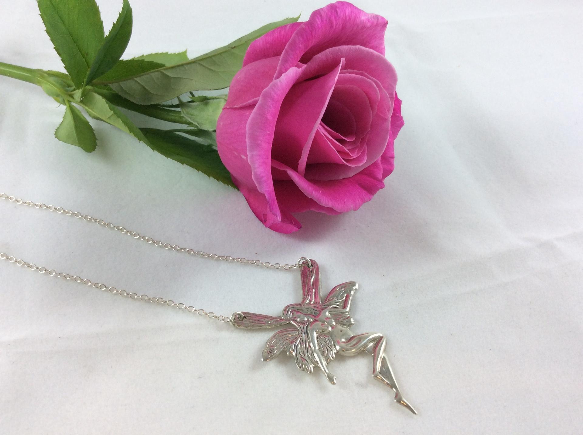 Large Fairy Pendant
