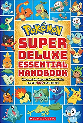 POKEMON SUPER DELUXE ESSENTIAL HANDBOOK (PB)