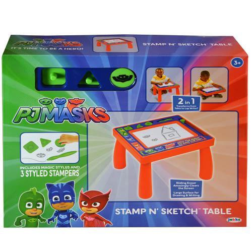 PJ MASKS STAMP N'SKETCH TABLE