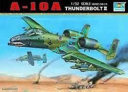 Trumpeter #02214 A-10A Thunderbolt II